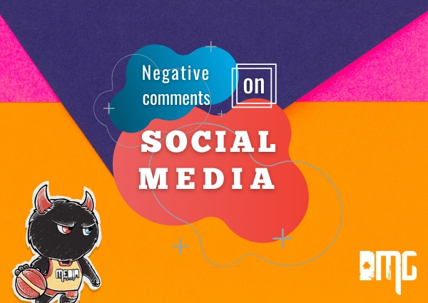 "How to handle negative social media comments and ""fame"""
