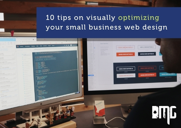 UPDATED: 10 tips on visually optimizing your small business web design