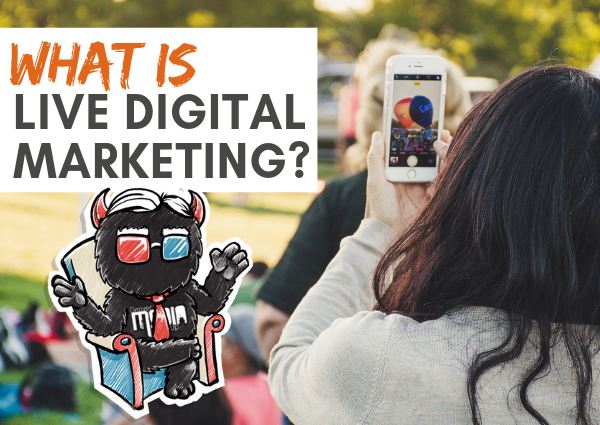 What is live digital marketing?