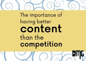 The importance of having better content than the competition