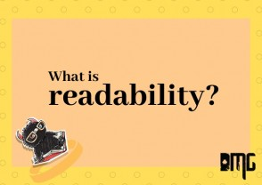 UPDATED: What is readability?