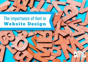 UPDATED: The importance of font in website design