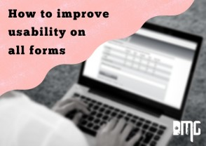 Improving website forms: How to improve usability on all forms