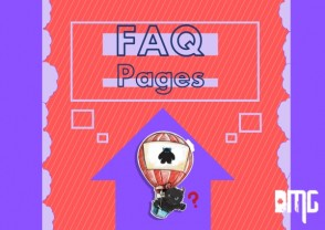 FAQ pages on websites