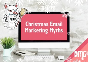 Christmas email marketing myths