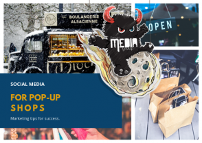 Social media for pop-up shops