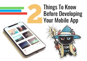 2 Things To Know Before Developing Your Mobile App