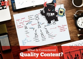 What is considered quality content?