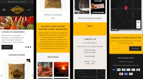 Denver Media Group Launches Frisco Spices E-Commerce Website & Marketing Stragegy