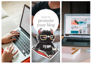 How to promote your blog.