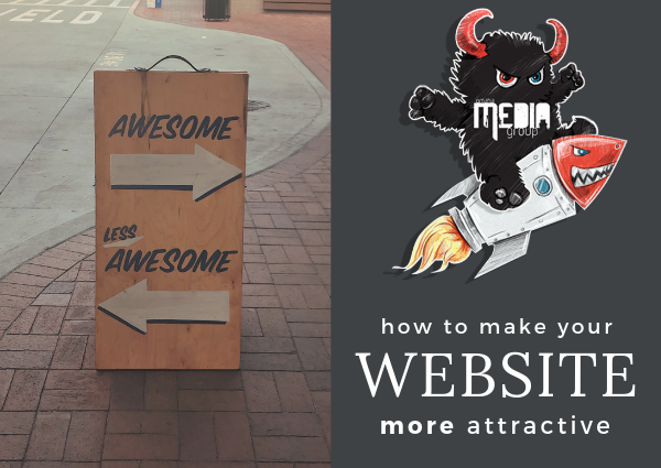 How to make your website more attractive